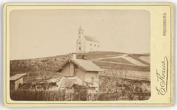 Eduard Kozič – Starý kostol v Lamači