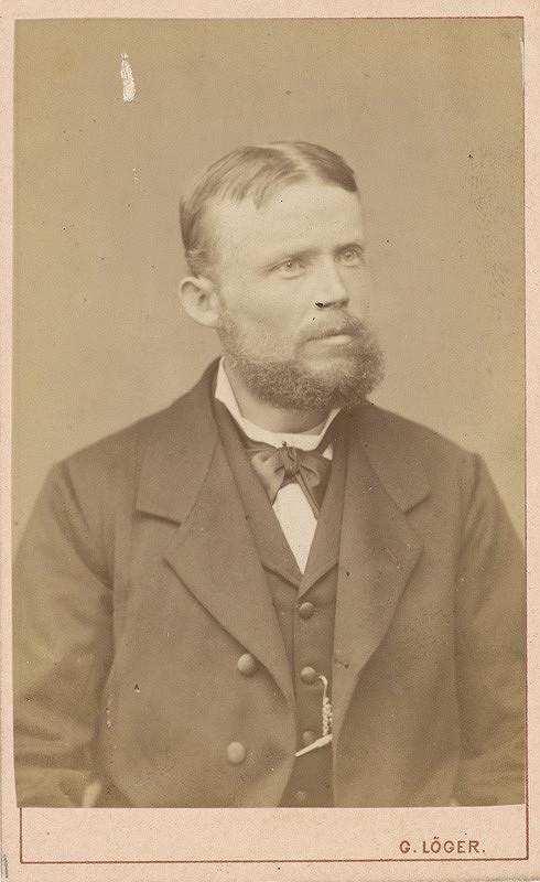 Gustáv Löger – Portrét J. Černického