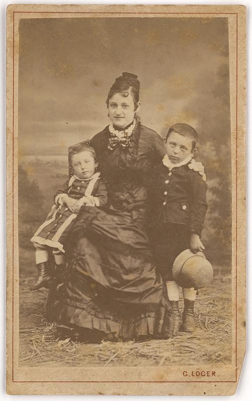 Gustáv Löger – Matka s deťmi