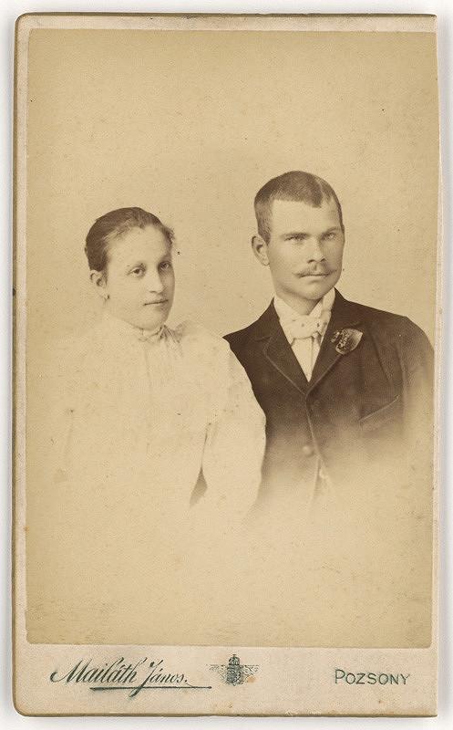Ján Majláth – Manželský pár