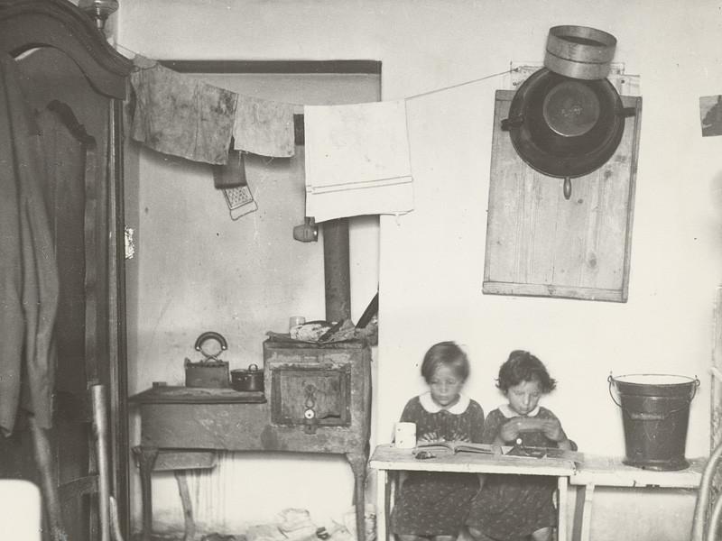 Iľja Jozef Marko – Byt v pivnici, 1937, Slovenská národná galéria
