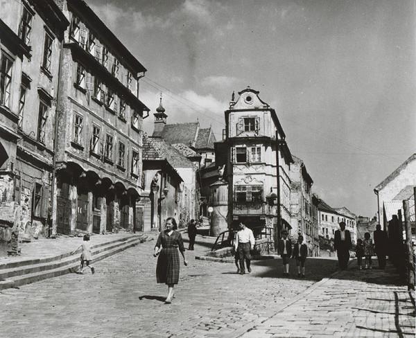 Pavol Poljak - Mikulášska a Židovská ulica v Bratislave