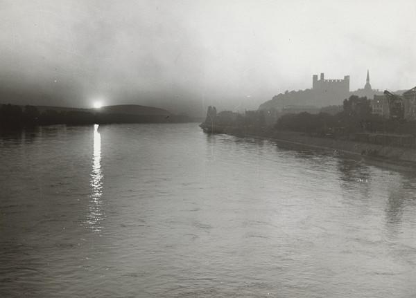 Pavol Poljak – Západ slnka nad Dunajom