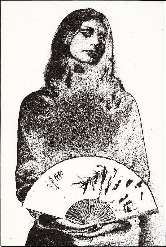 Teodor Andreas – Žena s vejárom