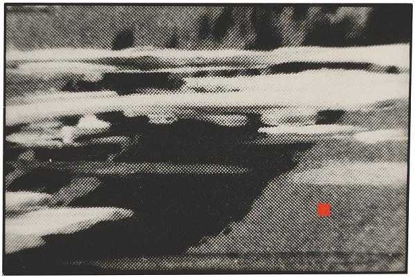 Ondrej Nosál - Krajina s červeným štvorcom