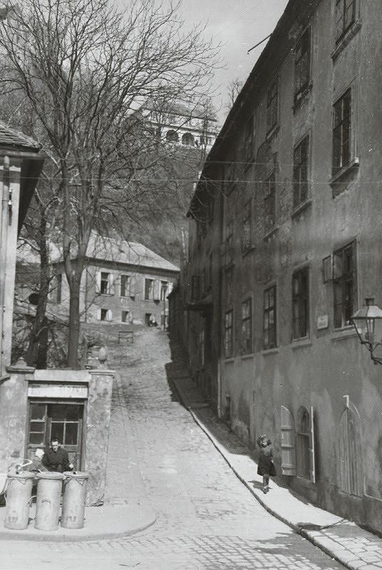 Pavol Poljak - Bratislava. Šťuková ulica k Vodnému vrchu