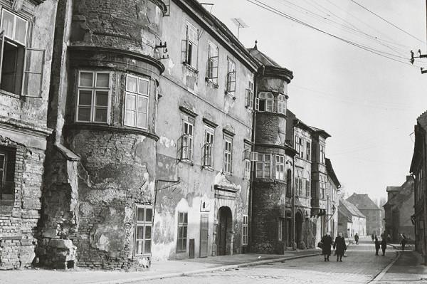 Pavol Poljak - Bratislava. Žižkova ulica (pôv. určenie Kapitulská ulica I.)