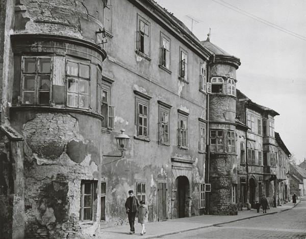 Pavol Poljak - Bratislava. Žižkova ulica (pôv. určenie Kapitulská II.)