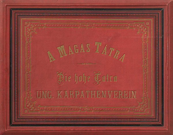 Karol Divald – Obrazy z Vysokých Tatier. Obal albumu