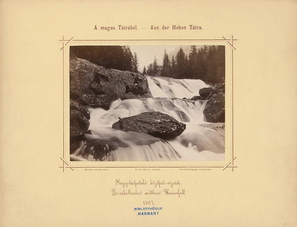 Karol Divald – Stredný vodopád Veľkého Studeného potoka