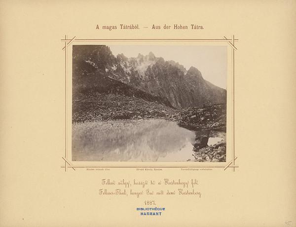 Karol Divald – Velická dolina, Dlhé pleso so Skrinicou