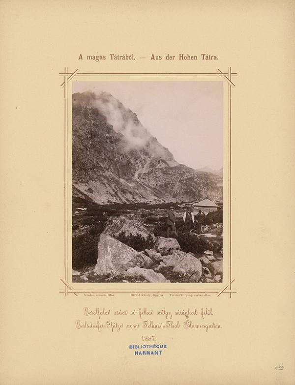 Karol Divald – Gerlachovský štít z Velickej doliny