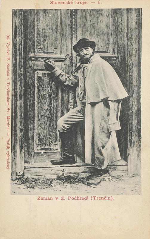 Pavol Socháň – Zeman v Zemianskom Podhradí