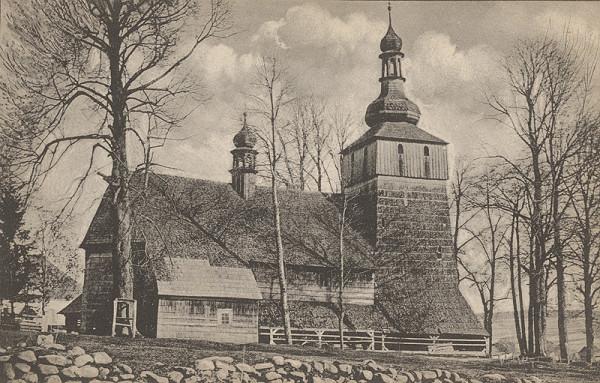 Pavol Socháň – Starý kostol v Chyžnom na Orave