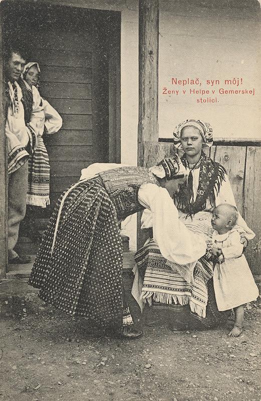 Pavol Socháň – Ženy v Heľpe