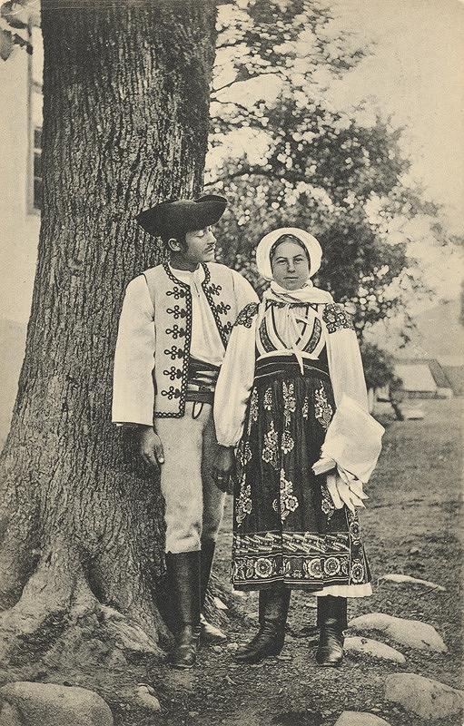 Pavol Socháň – Muž a žena z Liptovskej Osady