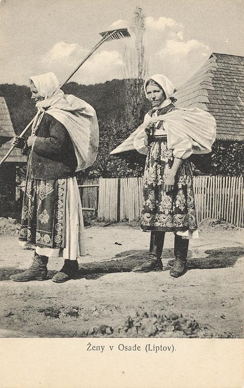 Pavol Socháň – Ženy v Liptovskej Osade