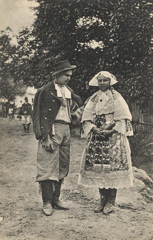 Pavol Socháň – Muž a žena v Jablonici