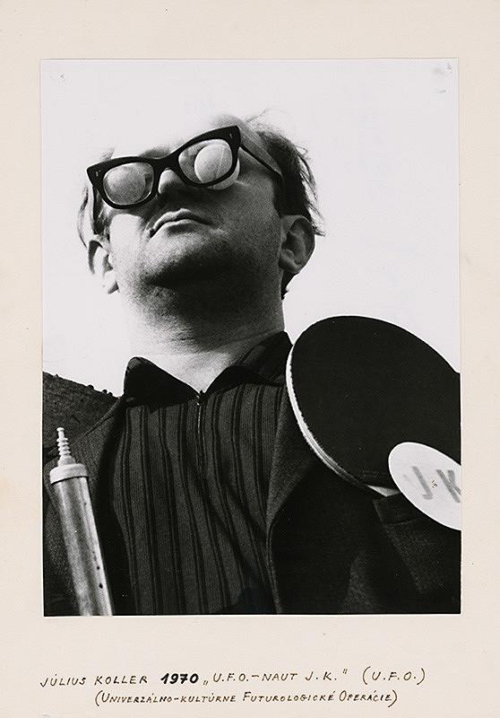 Július Koller, Milan Sirkovský - U.F.O.-naut J.K. (U.F.O)