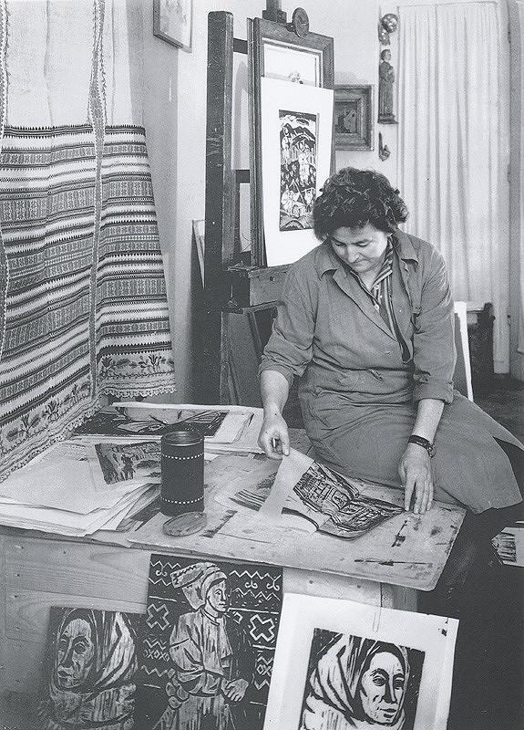 Ester Plicková – Portréty. Matilda Čechová