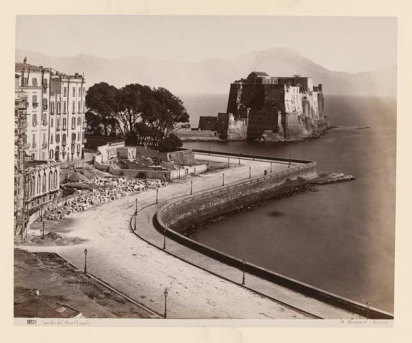 Giorgio Sommer - Neapol. Castel dell´Ovo