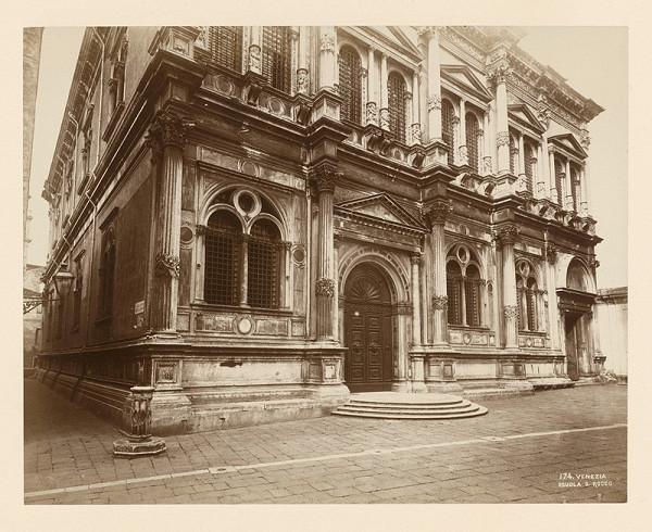 Neznámy autor – Benátky. Škola sv. Rocha (Scuola Grande di San Rocco)
