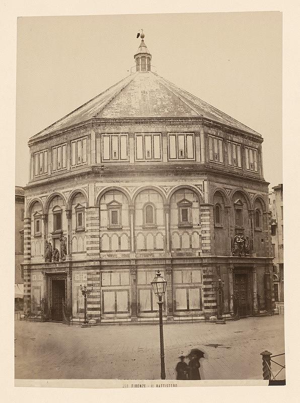 Neznámy autor – Florencia. Baptistérium sv. Jána (Battistero di San Giovanni)