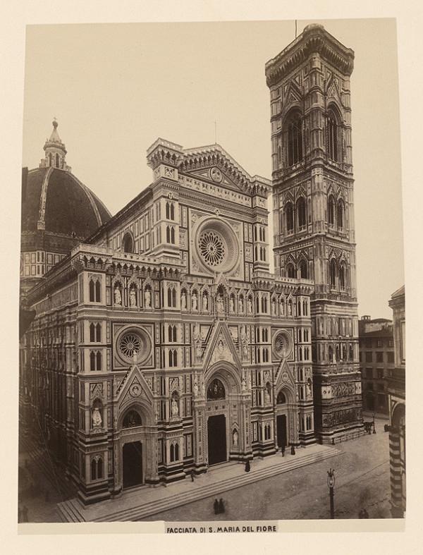 Neznámy autor – Florencia. Bazilika di Santa Maria del Fiore (Basilica di Santa Maria del Fiore)