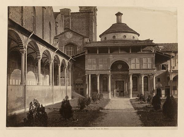 Neznámy autor - Florencia. Bazilika sv. Kríža. Kaplnka Pazziovcov (Basilica di Santa Croche. Capella dei Pazzi)