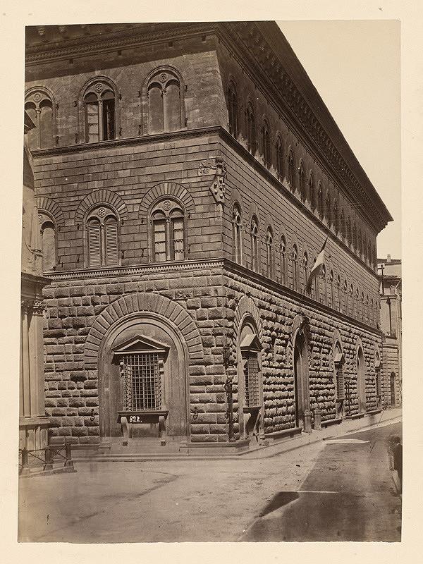 Neznámy autor – Florencia. Palác Medici (Palazzo Medici)