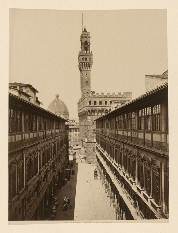 Neznámy autor - Florencia. Palác Vecchio (Palazzo Vecchio)