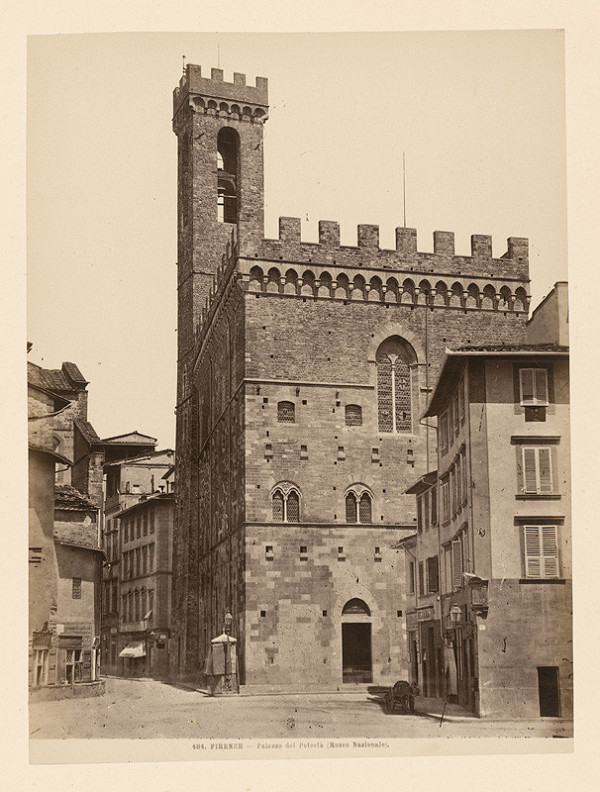 Neznámy autor – Florencia. Bargello (Palazzo del Podestà)