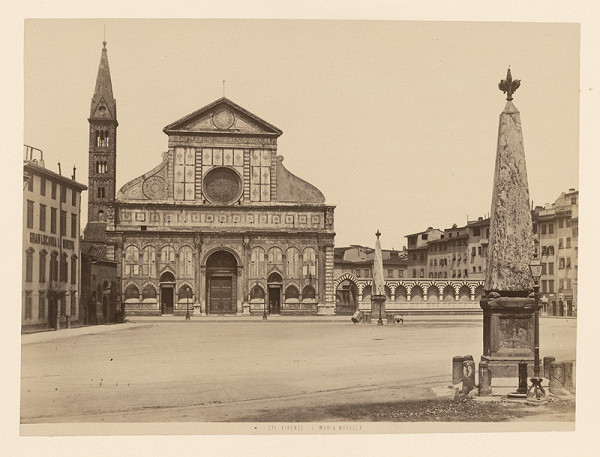 Neznámy autor – Florencia. Bazilika di Santa Maria Novella (Basilica di Santa Maria Novella)