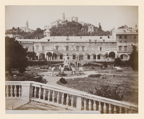 Neznámy autor – Janov. Palác Doria (Palazzo Doria)
