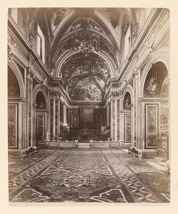 Neznámy autor – Neapol. Kláštor di San Martino (Certosa di San Martino). Interiér