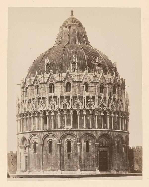 Neznámy autor – Pisa. Baptistérium di San Giovanni (Battistero di San Giovanni)
