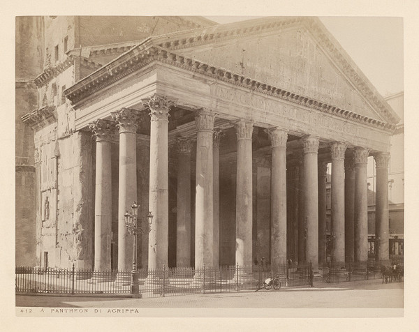 Neznámy autor – Rím. Panteón (Pantheon)