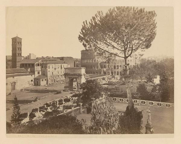 Neznámy autor – Rím. Koloseum (Colosseum)