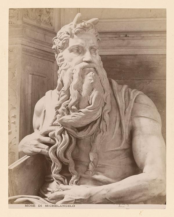 Neznámy autor - Rím. Michelangelov Mojžíš (Mosè di Michelangelo)
