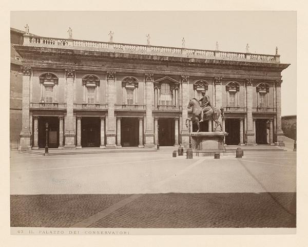 Neznámy autor – Rím. Palác dei Conservatori (Palazzo dei Conservatori)