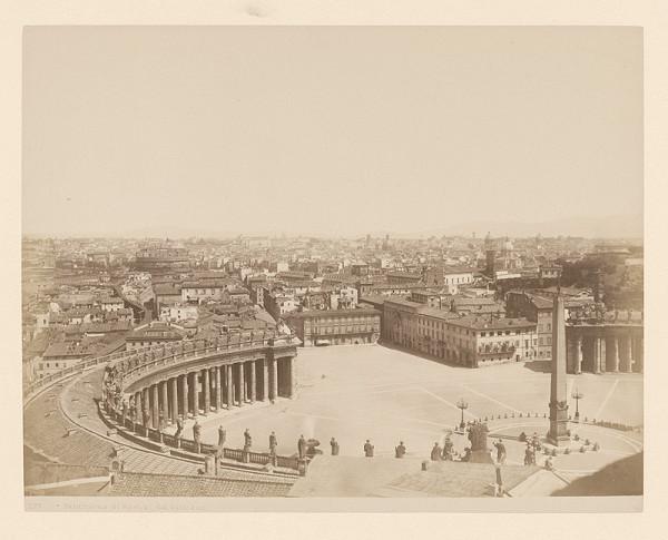 Neznámy autor - Rím. Panoráma mesta z Vatikánu