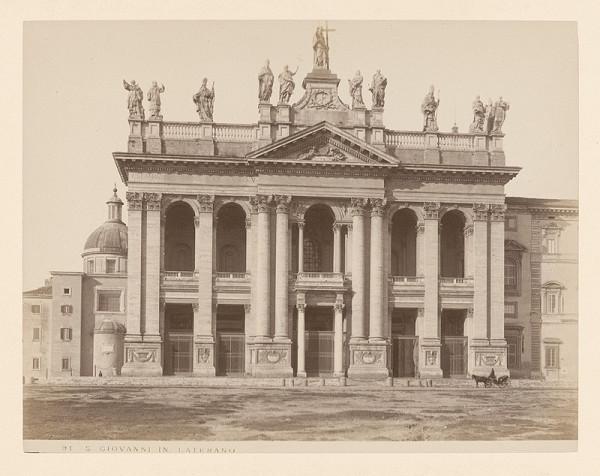 Neznámy autor – Rím. Bazilika di San Giovanni in Laterano (Basilica di San Giovanni in Laterano)