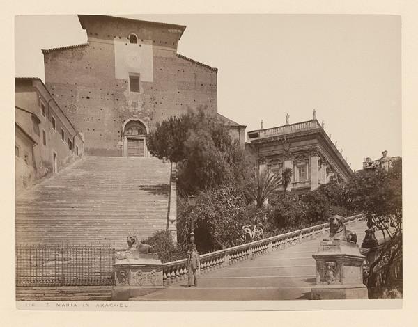 Neznámy autor – Rím. Bazilika di Santa Maria in Aracoeli (Basilica di Santa Maria in Aracoeli)
