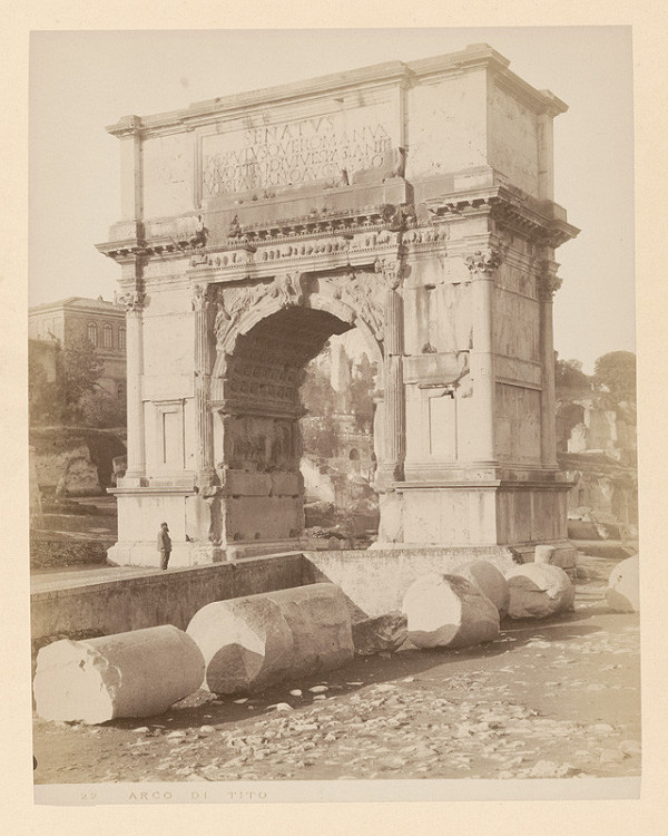 Neznámy autor - Rím. Titov oblúk. (Arco di Tito)