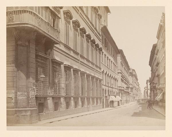 Neznámy autor – Rím. Via del Corso