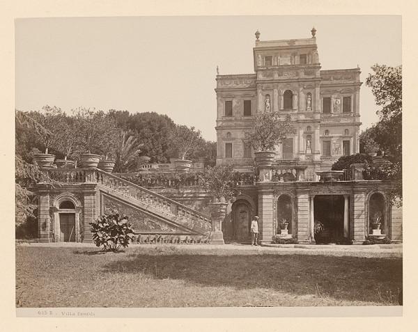Neznámy autor – Rím. Vila Doria Pamphili (Villa Doria Pamphili)