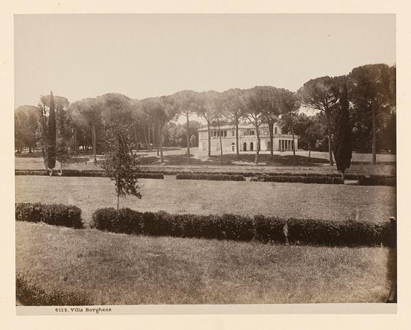 Neznámy autor - Rím. Raffaelov dom v parku pri Vile Borghese (Casina di Raffaello, Villa Borghese)