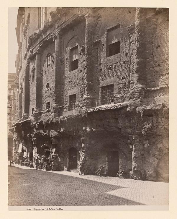 Neznámy autor - Rím. Marcellovo divadlo (Teatro di Marcello)
