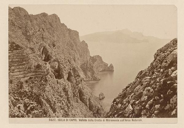 Neznámy autor – Ostrov Capri. Údolie