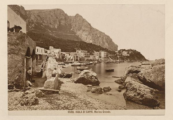 Neznámy autor – Ostrov Capri. Marina Grande